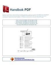 Bruker manual CHAMBERLAIN MOTORLIFT 5500 - HANDBOK PDF
