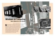 Windows on Computing - Federation of American Scientists