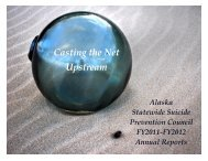 2011-2012 Annual Report - Alaska Department of Health and Social ...