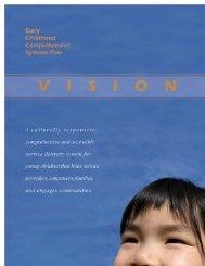 Early Childhood Comprehensive Systems Plan - Alaska Department ...