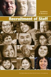 AADSC Publication - Alaska Department of Health and Social Services