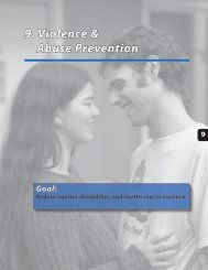 9. Violence & Abuse Prevention - Alaska Department of Health and ...