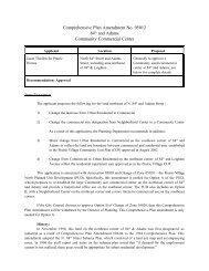 Comprehensive Plan Amendment No. 05012 - City of Lincoln ...