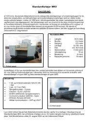 Præsentation af skib - MKII - Endelig Version