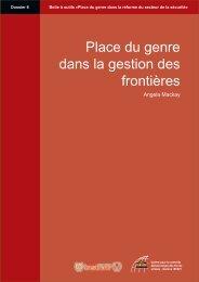 Place du genre dans la gestion des frontières - Dossier 6 - DCAF