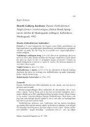 Danske Dobbeltformer. Valgfri former i - Hermes - Journal of ...