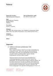 Referat - Danske Fysioterapeuter