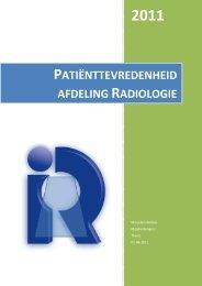 Thesis UMC St. Radboud afdeling radiologie - Saxion Hogescholen