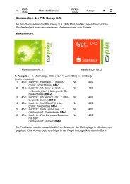 Ganzsachen der PIN Group S.A. - Pin-mail-online.de