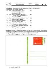 3. Ausgabe – Kooperation mit den Sparkassen in Nordrhein ...