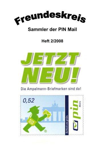 Mitteilungsblatt des Freundeskreises – Sammler der PIN Mail Nr. 2 ...