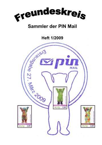 Mitteilungsblatt des Freundeskreises – Sammler der PIN Mail Nr. 1 ...
