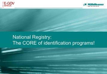 National Registry