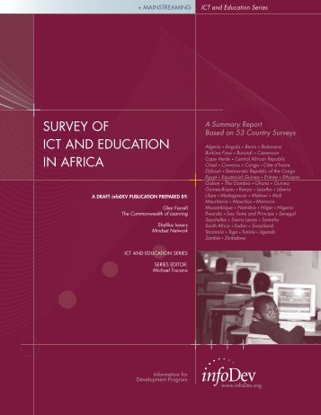 SURVEY OF ICT AND EDUCATION IN AFRICA - Commonwealth ...