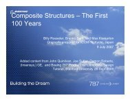 Composite Structures ? The First 100 Years - Department of ...