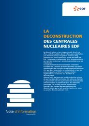 NOTE deconstruction - Energie EDF