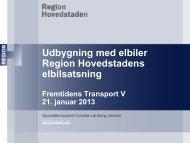 Udbygning med elbiler, v. Camilla Lønborg-Jensen - IDA