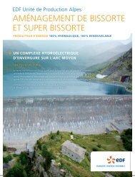 AMÉNAGEMENT DE BISSORTE ET SUPER BISSORTE - Energie EDF