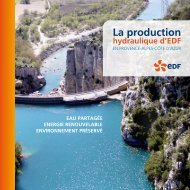 la production - Energie EDF