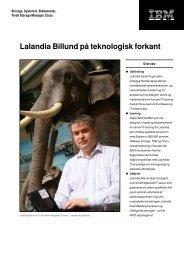 Lalandia Billund på teknologisk forkant - IBM