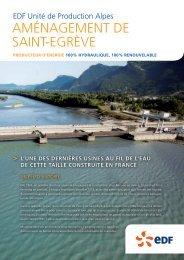 Aménagement de St Egrève (PDF 632 Ko) - Energie EDF