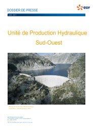 Unité de Production Hydraulique Sud-Ouest - Energie EDF
