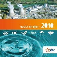 Bugey En Bref 2010 - Energie EDF