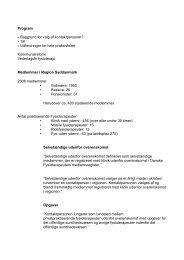 Program • Baggrund for valg af kontaktpersoner? - Danske ...