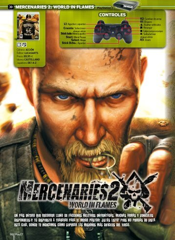MERCENARIES 2: WORLD IN FLAMES PlayStation 3 ... - Webgarden