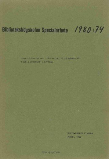 1980 nr 74.pdf - BADA - Högskolan i Borås