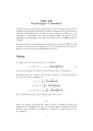 Projektopgave 1 - itslearning