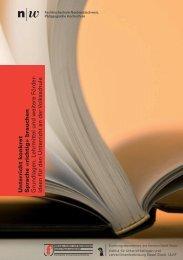 Flyer und Programm - Fachhochschule Nordwestschweiz