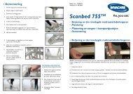 Monteringsveiledning SB755 - Invacare