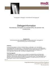 Deltagerinformation - e-Dok - Region Midtjylland