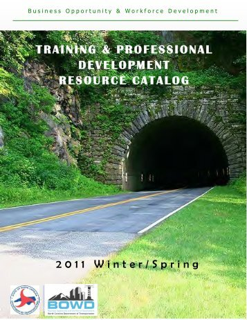 training & professional development resource catalog - Connect ...