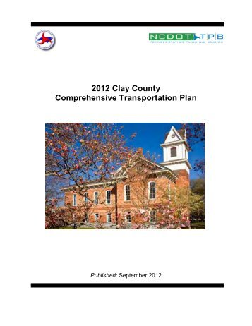 Clay County CTP Report - Connect NCDOT - North Carolina ...