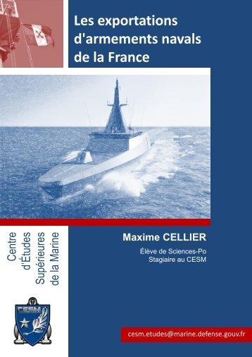 Les exportations d'armements navals.pdf - CESM - Ministère de la ...