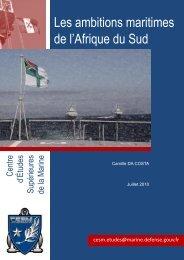 Les ambitions maritimes de l'Afrique du Sud - CESM