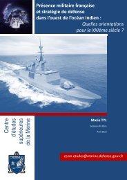 Marie TYL - CESM - Ministère de la Défense