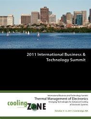 2011 International Business & Technology Summit ... - coolingZONE