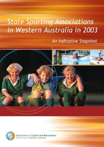 State Sporting Associations in Western Australia in 2003