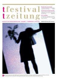 Ausgabe zwei - Berliner Festspiele
