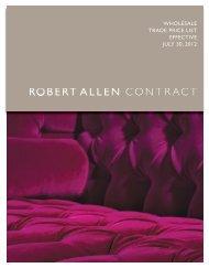 WHOLESALE TRADE PRICE LIST EFFECTIVE JULY ... - Robert Allen