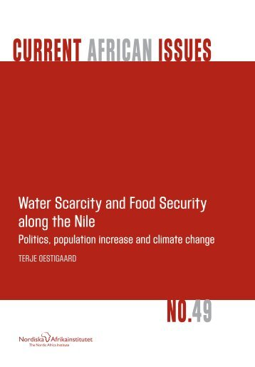Water Scarcity and Food Security along the Nile - oestigaard