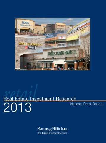 2013 National Retail Report - Nisbet Group