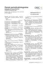 Dansk periodicafortegnelse