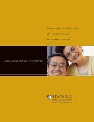 Dementia Support - Stanford Hospital & Clinics