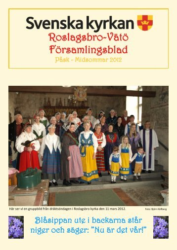 Påsk - Midsommar 2012 - Svenska kyrkan