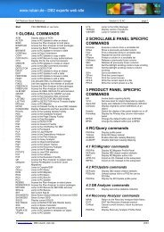 CA Platinum Quick Reference - Gernot Rubans DB2 Site