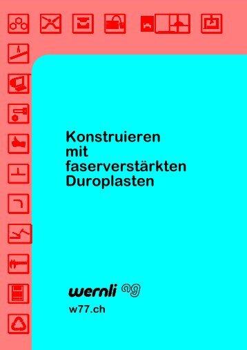 Konstruieren mit faserverstärkten Kunststoffen - Wernli AG
